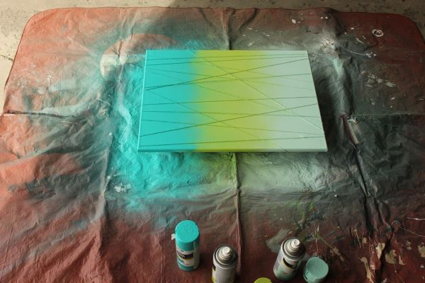 DIY Painting Canvas Abstract Art