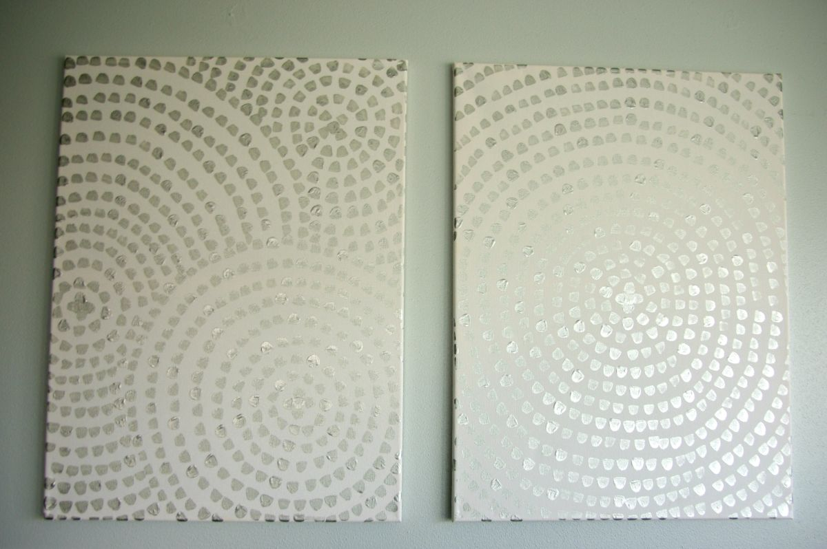 diy canvas art for living room furniture with price wall a low cost way to add your home