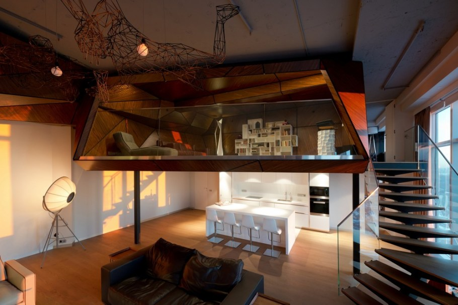 Moscow-penthouse-apartment-kitchen-in-context