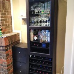 Can You Put A Wine Rack In Living Room Setup With Sectional How To Combine Ikea Items Build Your Own Besta Frame Inreda Shelves