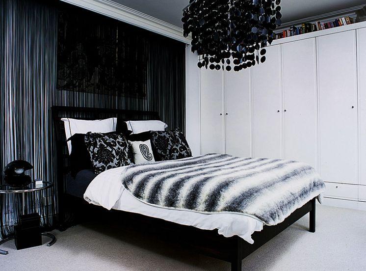 blackchandelierbedroom  Home Decorating Trends  Homedit