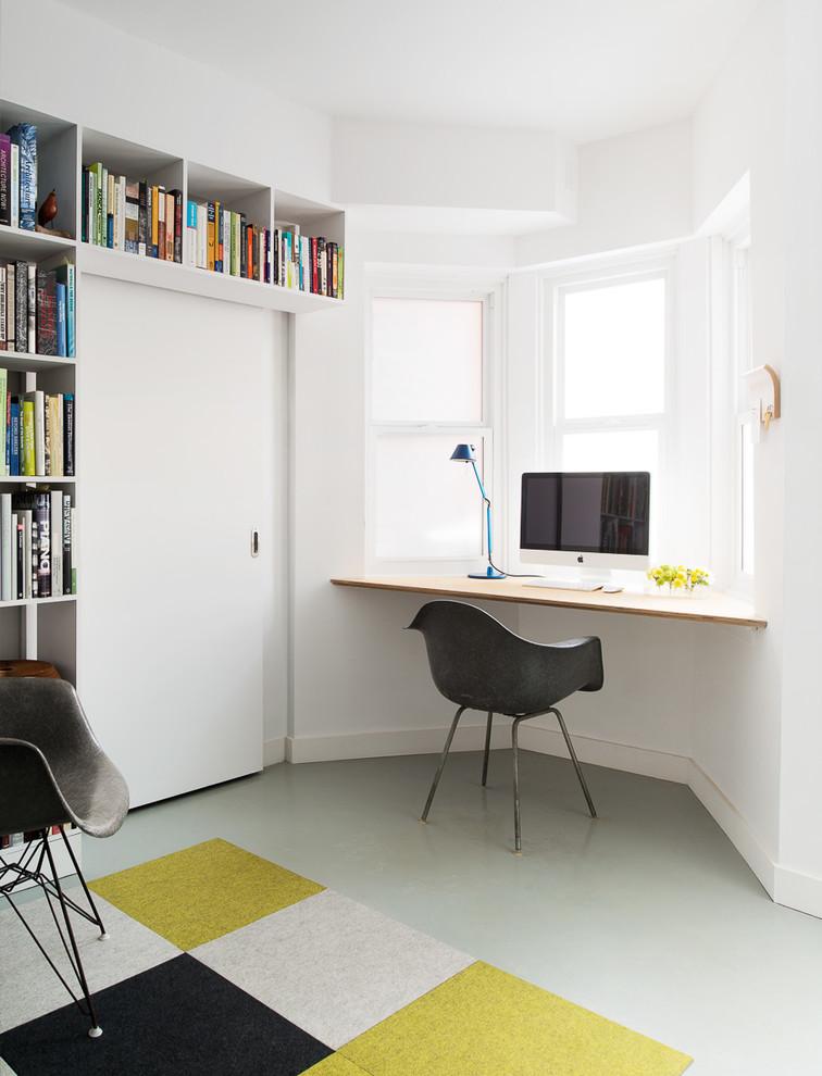 Embrace Minimalism  Shelf Desks With Discerning Designs