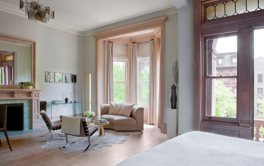 curtain ideas for large windows in living room couches sale how to solve the problem when you have bay