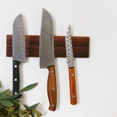 Kitchen Knife Magnet Single Bowl Undermount Sink Diy Magnetic Holder Rack
