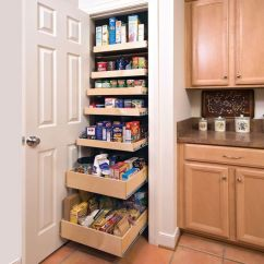 Kitchen Pull Out Shelves Cabinet Outlet Nj That Slide To Make Storage Fast And Easy