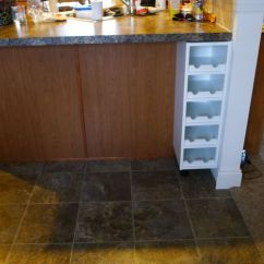 How To Build Your Own Kitchen Island Single Handle Faucets Combine Ikea Items Wine Rack