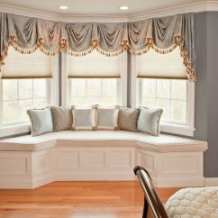 Living Room Curtain Ideas For Bay Windows Decorating With Grey Sofa How To Solve The Problem When You Have