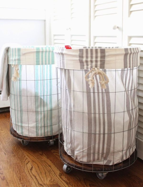 Stay Practical Laundry Baskets Wheels