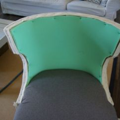 How To Diy Reupholster A Chair Hay Design No Sew Full