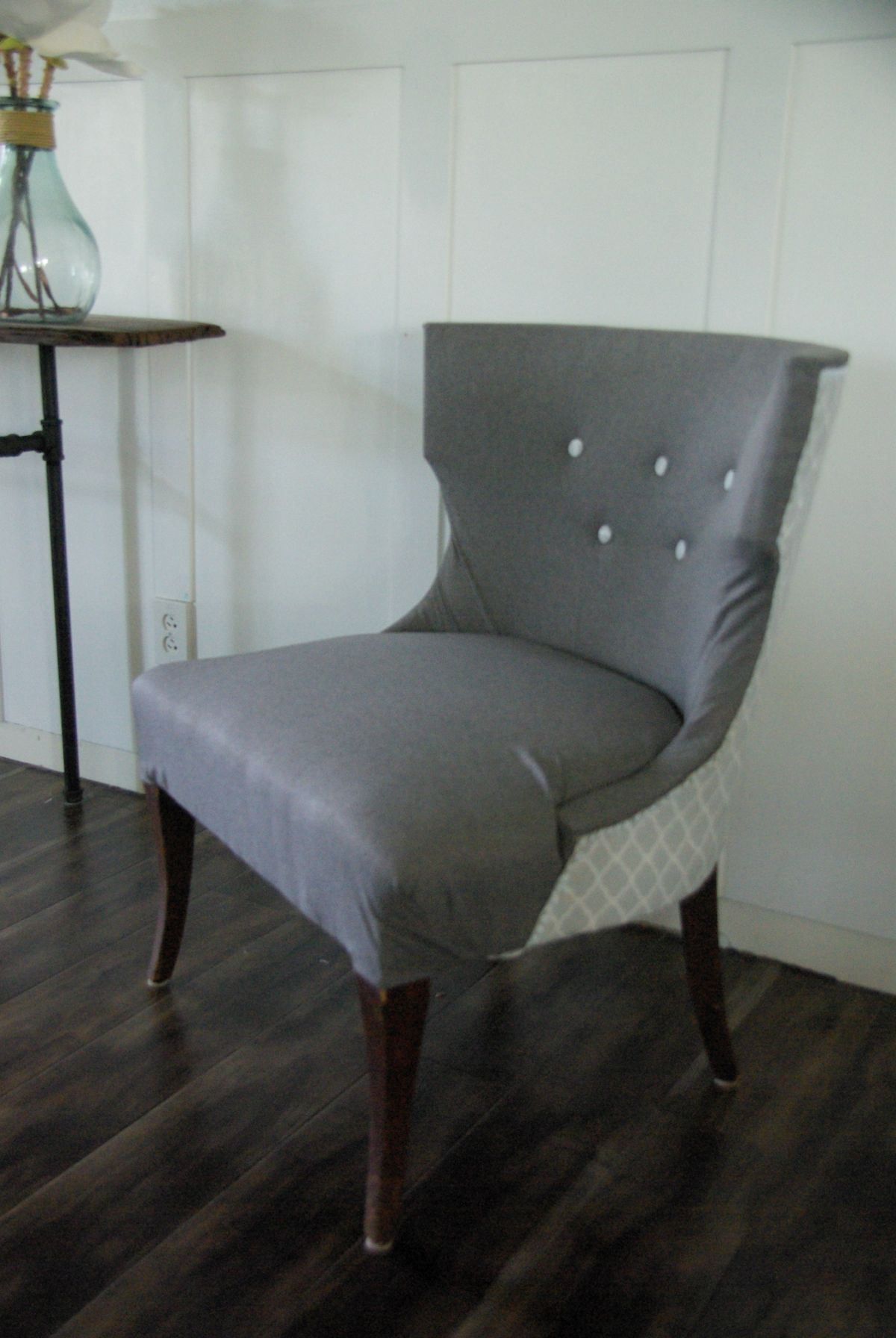 NoSew Full Reupholster Chair