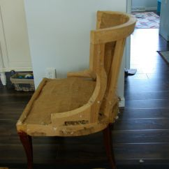 How To Recover A Sofa Without Sewing Soft Leather Sets No Sew Full Reupholster Chair