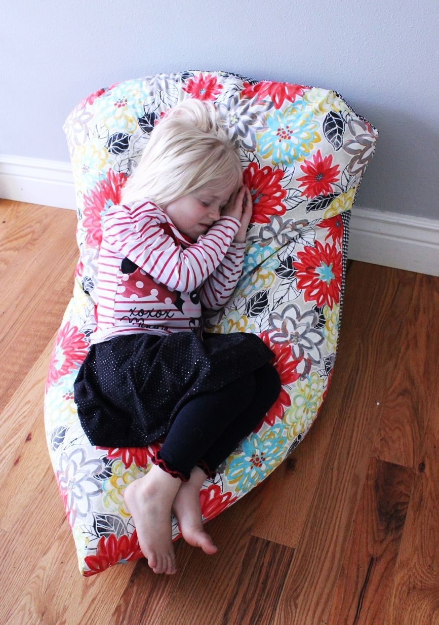 what size bean bag chair do i need banquet covers rent super simple diy kids chair: a step-by-step tutorial