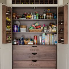 Ideas For Kitchen Cherry Wood Cabinets 15 Pantry With Form And Function