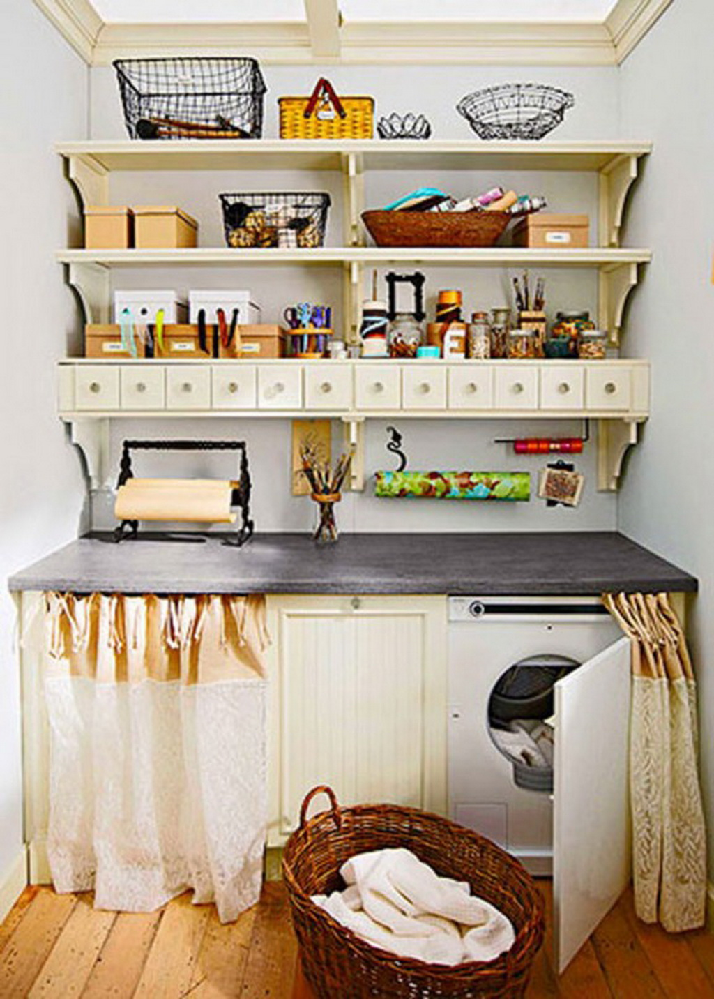 15 Tips to Creating a Laundry Room thats both Charming and Functional