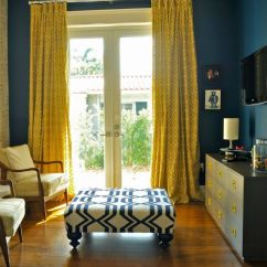Curtains For Yellow Living Room Lamp Sets The Way To Brighten Up A With