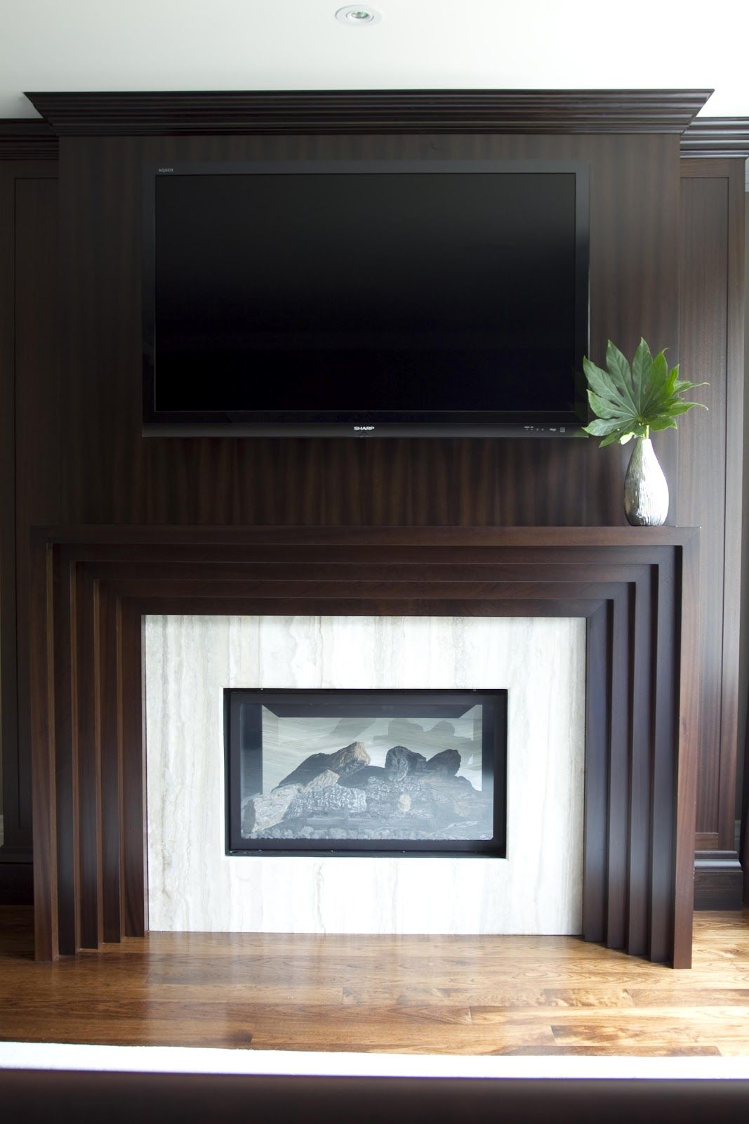 Rock Fireplace Mantel 20 Nature-loving Fireplace Ideas