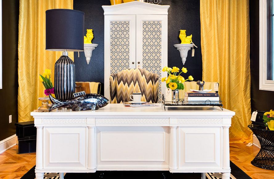 grey and yellow curtains for living room stone wall the way to brighten up a with can bring in some brightness view gallery