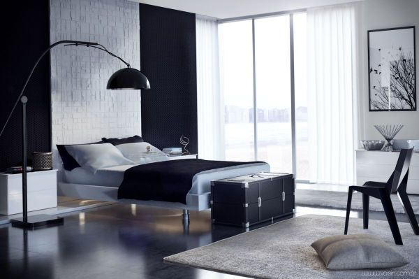 black and white minimalist bedroom ideas 20 Minimalist Bedrooms For the Modern Stylista