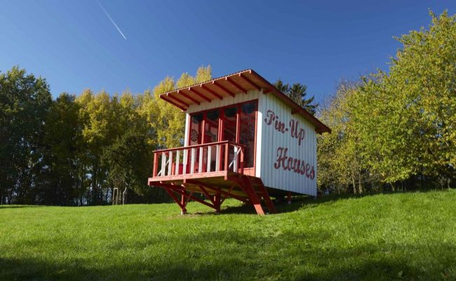 The Pin Up Cabin You Can Build Yourself Using Simple Plans