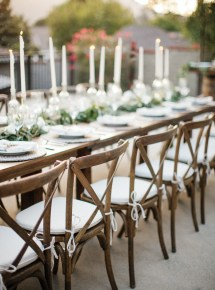 Outdoor Party Table and Chairs