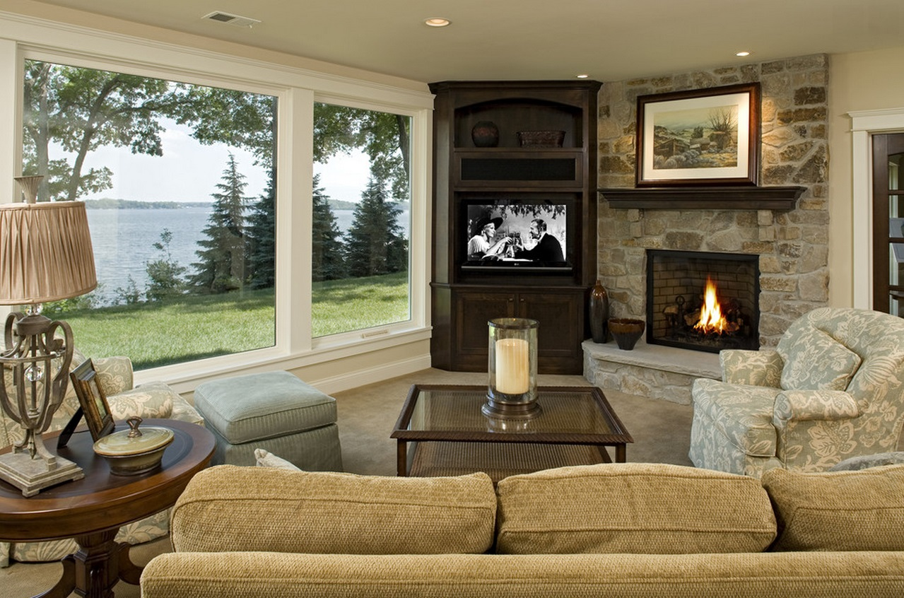 Small Living Room Ideas With Tv And Fireplace Centerfieldbarcom