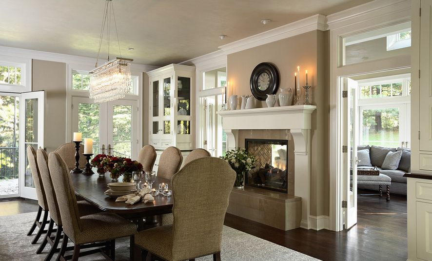 living room fireplaces pictures drapes and valances 20 gorgeous two sided for your spacious homes traditional