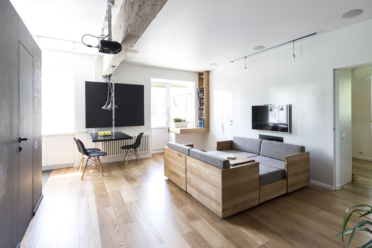 mobile home living room design ideas tiny flexible family apartment full of original solutions