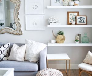 shelves living room comfortable sets 60 ways to make diy a part of your home s decor 10 work with floating white