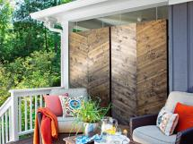 Customize Outdoor Areas With Privacy Screens