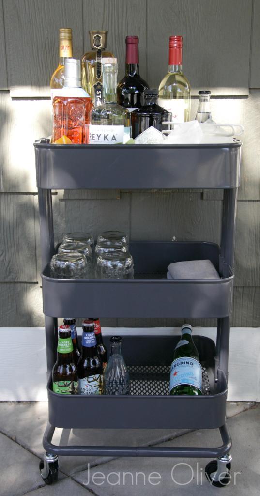 36 Creative Ways To Use The RSKOG Ikea Kitchen Cart