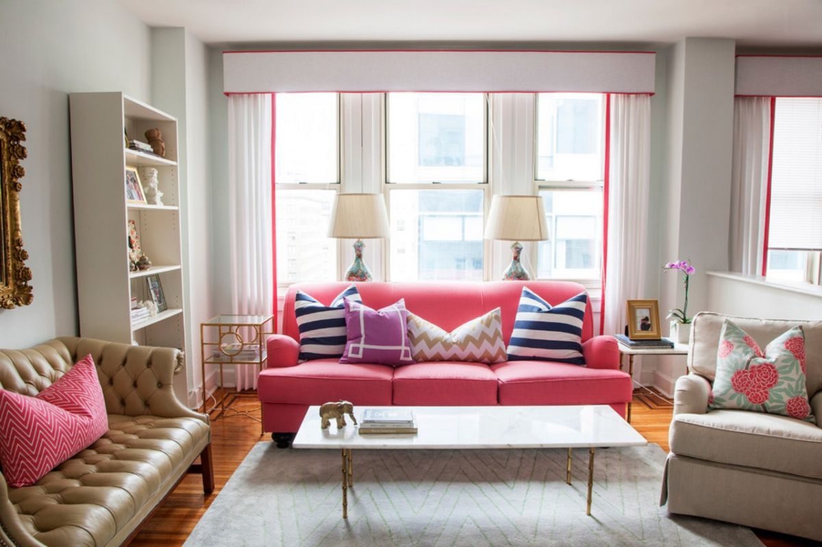Room ideas we've tapped top interior designers to share their insider secrets, tips, and. Pink Sofas: An Unexpected Touch Of Color In The Living Room