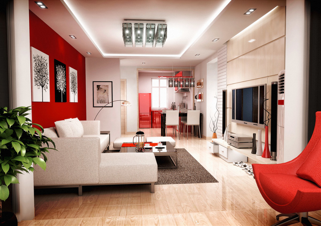 how to decorate a small living room with sofa and loveseat baker bed 20 colors that jive well red rooms