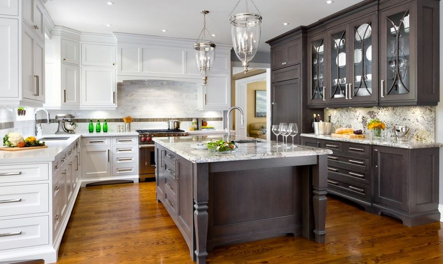different color kitchen cabinets drop leaf table plans 20 kitchens with stylish two tone transitional
