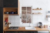 Geometric Backsplash Designs And Kitchen Dcor Possibilities