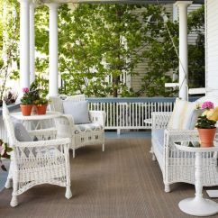 Wicker Porch Chairs Time Out For Toddlers Summer Decors Infused With White Furniture