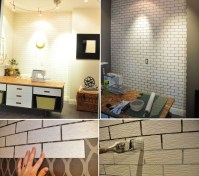 Simple Ways To Recreate The Look Of Real Exposed Brick Walls