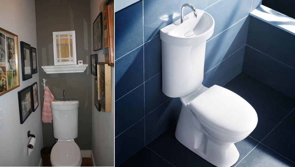 ToiletSink Combo Ideas That Help You Stay Green