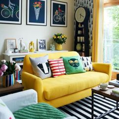 Mustard Yellow Living Room Ideas Interior Design Images How To With And Around A Sofa