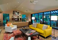How To Design With And Around A Yellow Living Room Sofa