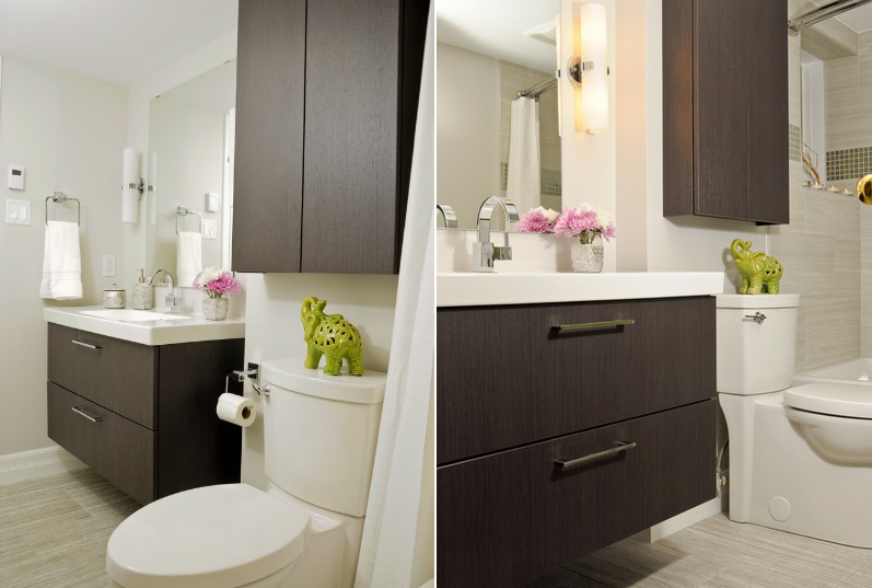 Over The Toilet Storage And Design Options For Small Bathrooms