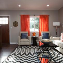 Red And Grey Living Room Curtains Marble Table Sets What Color Is Taupe How Should You Use It Orange Blast