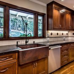 Farm Sinks For Kitchens Roof Exhaust Vents When And How To Add A Copper Farmhouse Sink Kitchen