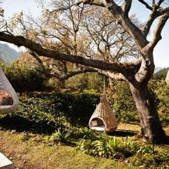 Hanging Chair Tree Rattan Restaurant Chairs 15 Summer Ready Cocoon That Invite Themselves In Hangign Lounge Dedon