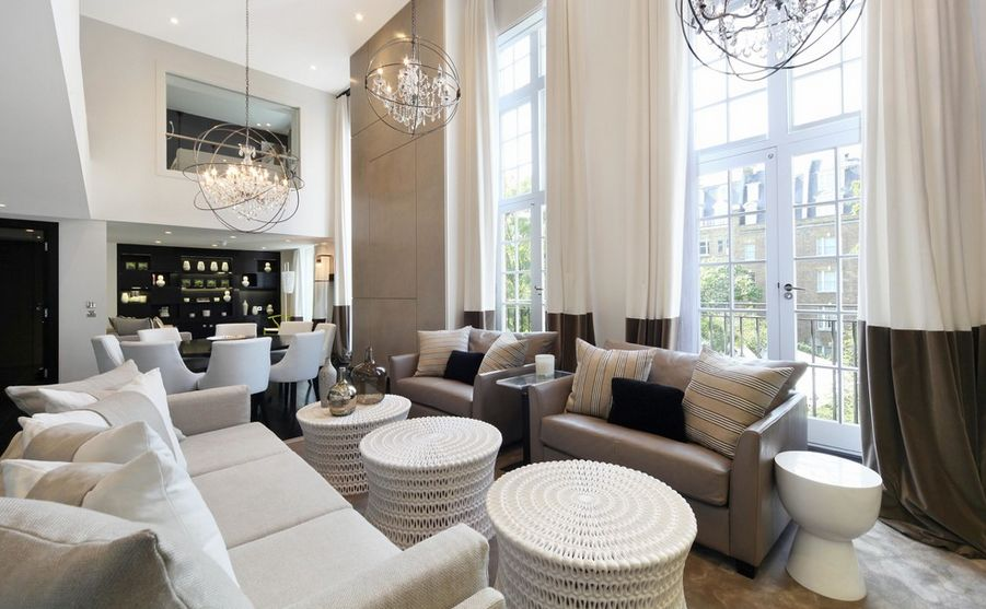 highceilingscolorblock  Home Decorating Trends  Homedit