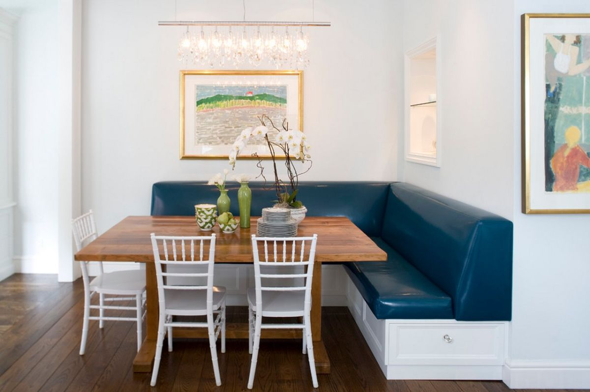 When And How To Use A Corner Bench In Your Home