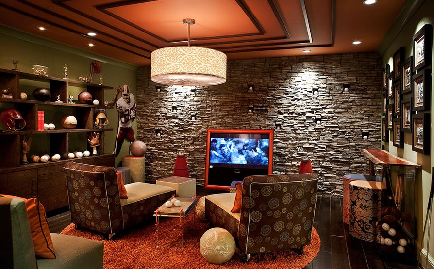 living room decorative items india ceiling lighting 50 tips and ideas for a successful man cave decor