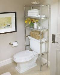 bathroom shelves over toilet - Design Decoration