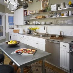 Stainless Steel Kitchen Round Glass Table Sets How To Mix And Match Shelves With Your Style Surfaces Disperse