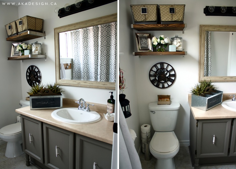 over the toilet storage and design