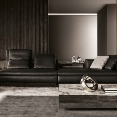Leather Sofa Designs For Living Room India Modern Country Rooms Uk 10 Italian Sofas And Their Versatile Yang 5 Seater